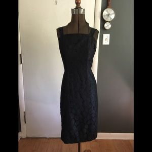 Vintage 1950/1960s lace dress size 6